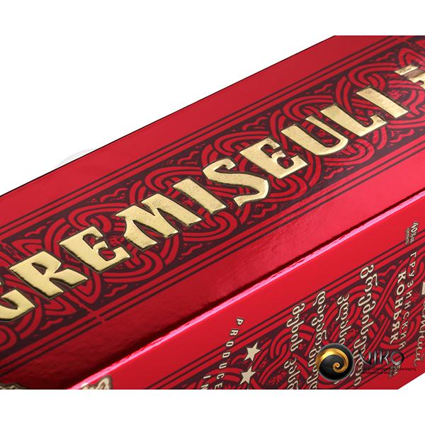 Алкоголь / Индивидуальная упаковка / Упаковка Индивидуальная Gremiseuli 305*65*65 мм
