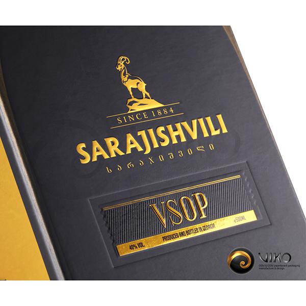 Алкоголь / Индивидуальная упаковка / Упаковка Индивидуальная Sarajishvili