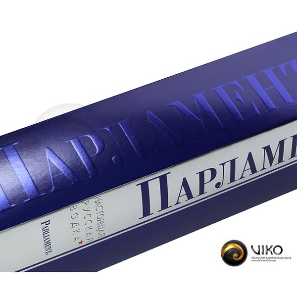 Алкоголь / Индивидуальная упаковка / Упаковка Индивидуальная Парламент 310*75*65 мм