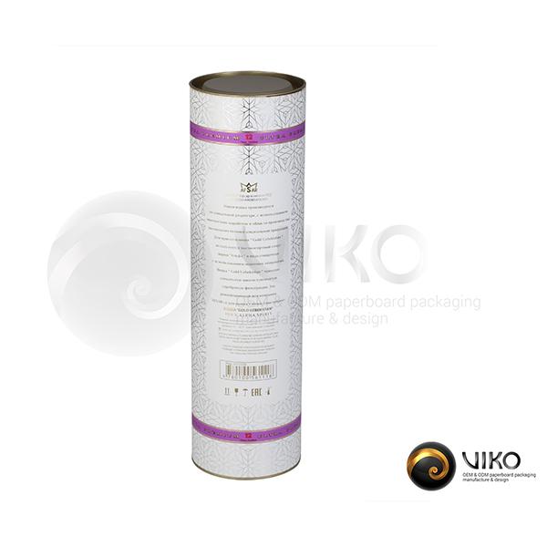 Алкоголь / Упаковка Тубус / Упаковка Тубус золотой Узбекистан 99x355 мм