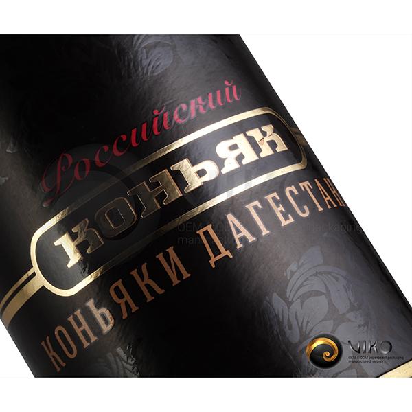 Алкоголь / Упаковка Тубус / Упаковка Тубус Лезгинка 72,8х320 мм
