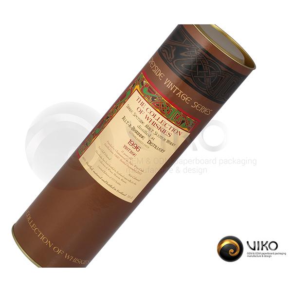 Алкоголь / Упаковка Тубус / Алкоголь / Упаковка Тубус / Упаковка Тубус Vintage series 86x310 мм