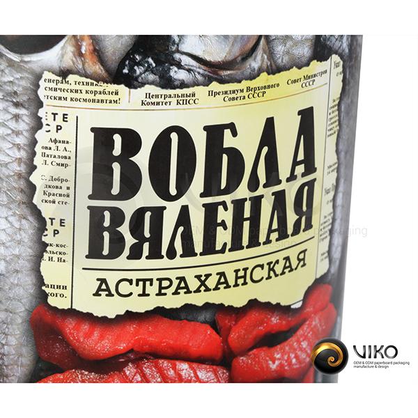 Алкоголь / Упаковка Тубус / Упаковка Тубус Вяленая вобла 120x300 мм