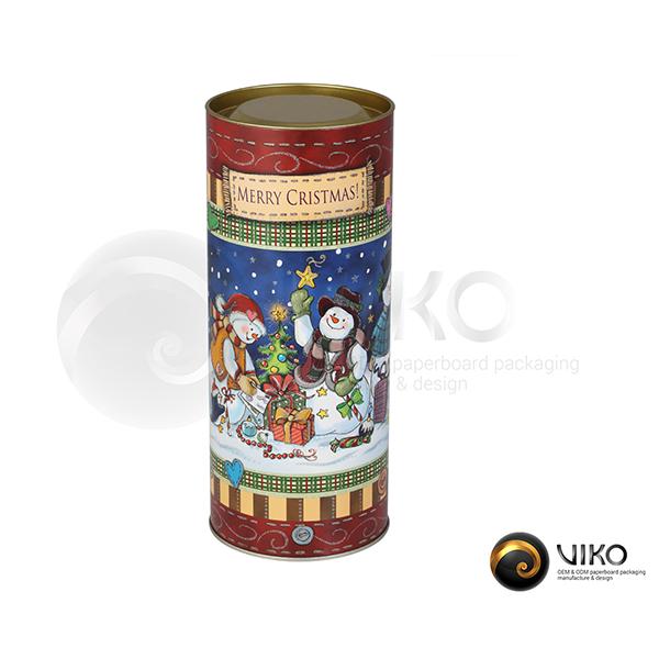 Упаковка Тубус легенды Merry Christmass 92x232 мм
