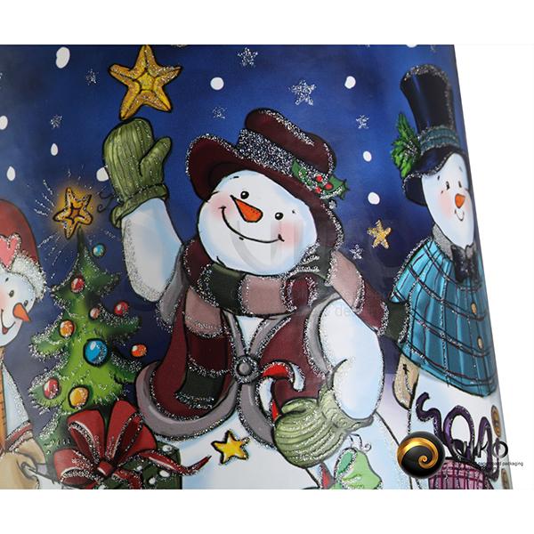 Алкоголь / Упаковка Тубус / Упаковка Тубус легенды Merry Christmass 92x232 мм