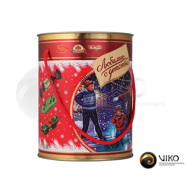 Алкоголь / Упаковка Тубус / Упаковка Тубус Любимые с детства 120x155 мм