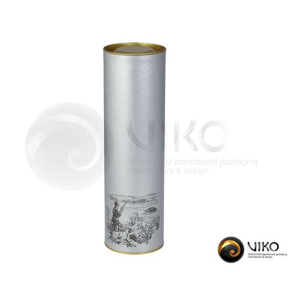 Упаковка Тубус легенды Silver 72.8x257 мм