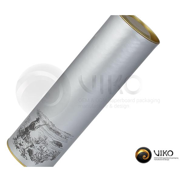 Алкоголь / Упаковка Тубус / Упаковка Тубус легенды Silver 72.8x257 мм