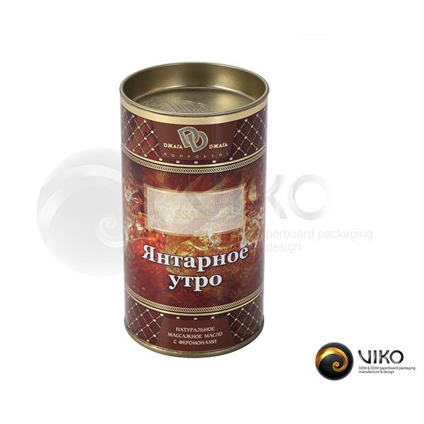 Упаковка Тубус Янтарное утро 63x120 мм