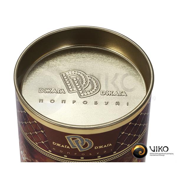 Алкоголь / Упаковка Тубус / Упаковка Тубус Янтарное утро 63x120 мм