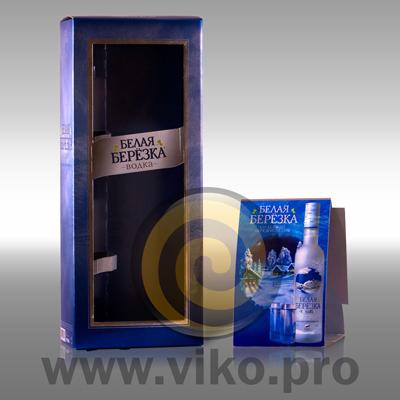 Алкоголь / Подарочная упаковка / Подарочная упаковка Белая березка