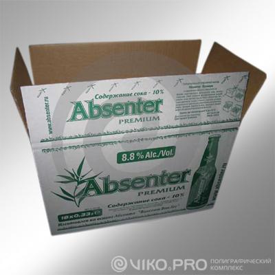 """Групповая упаковка для коктейля """"Absenter"""""""