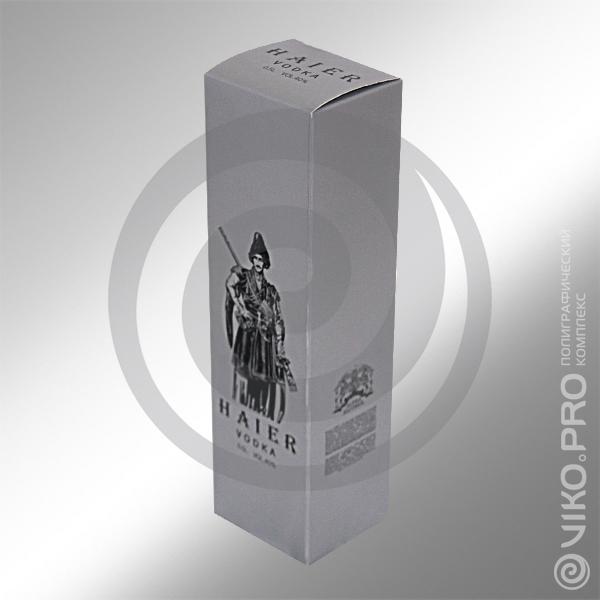 Индивидуальная упаковка для водки HAIER 3
