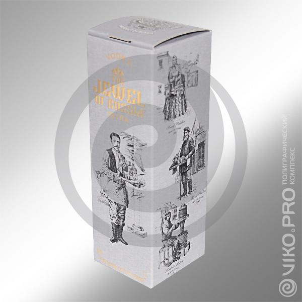 Индивидуальная упаковка для водки Jewel of Russia