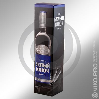 "Индивидуальная упаковка для алкоголя ""Белый ключ"" 65х65х290мм"