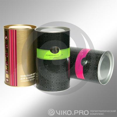 Чай и кофе / Для кофе / Упаковка для кофейной смеси, 73х160мм