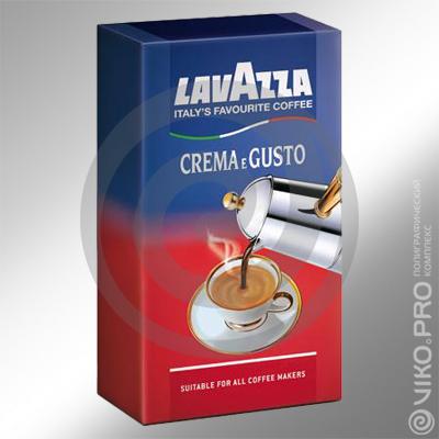 Упаковка для кофе Lavazza, 100х50х190мм
