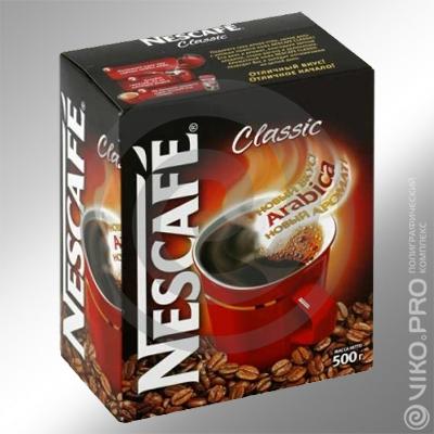 Упаковка для молотого кофе Neskafe 50х100х130мм