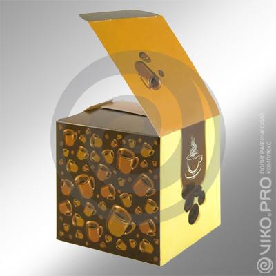 Коробка 110х110х110мм со сборным дном