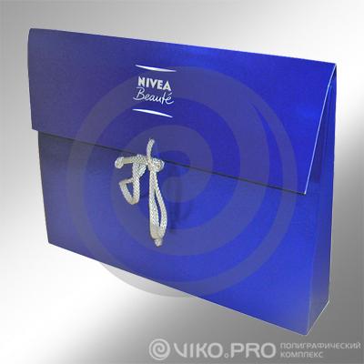 Подарочная упаковка для косметики NIVEA