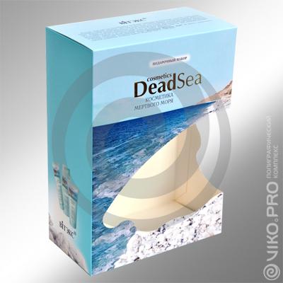 Подарочная упаковка для косметики DEADSEA