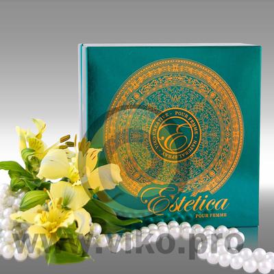 Упаковка для духов Estetica 120х120х50 мм