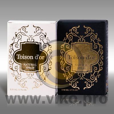 Упаковка для духов Toison D'or 80х120х50 мм