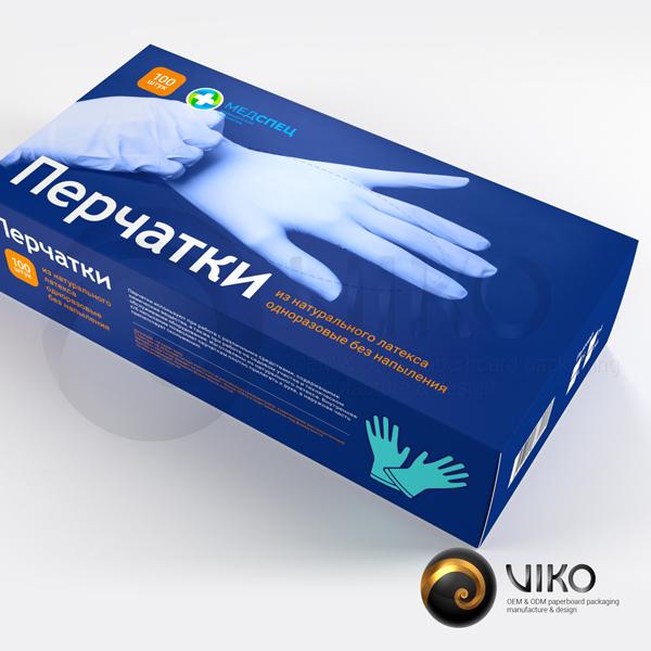 Смотровые или диагностические перчатки нитриловый одноразовые с текстурой для пальцев