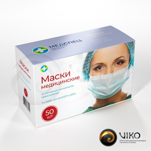 Упаковка для медицинских и стерильных масок