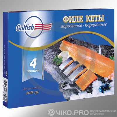 Упаковка для рыбы Gulfish 250х150х80 мм