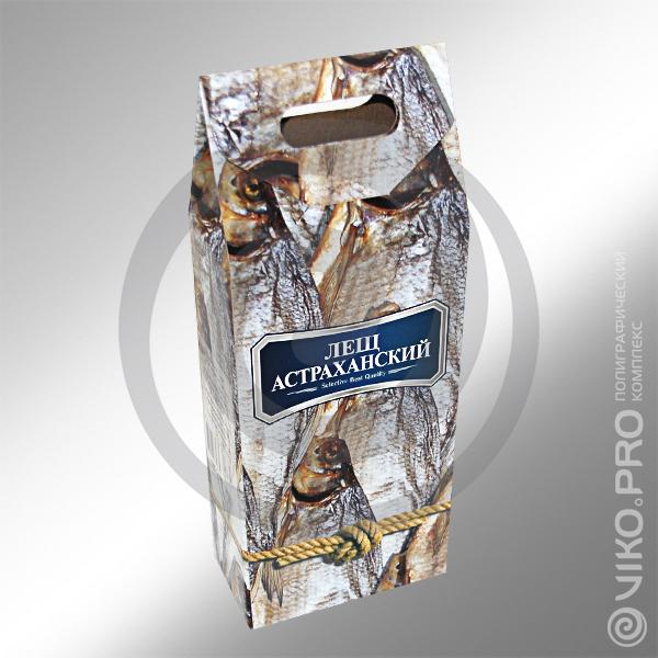 Пищевая упаковка / Для рыбы / Упаковка для рыбы Лещ Астраханский