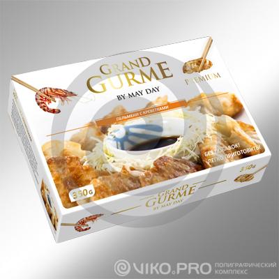 Пищевая упаковка / Для полуфабрикатов / Картонная упаковка Grand Gurme 200х120х60 мм