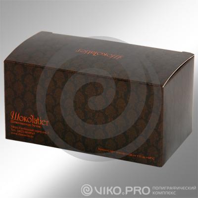 """""""Упаковка для пирожных Chocolatier 140*50*60 мм"""""""