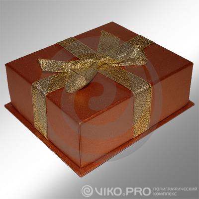 Картонная упаковка для торта 250*х250х150 мм 2