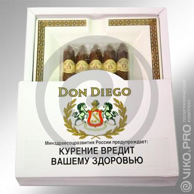 """Упаковка для сигар """"Don Diego"""" 320х320х25 мм"""