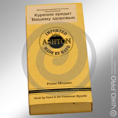 """Упаковка для сигар """"Ashton"""" 110х200х25 мм"""