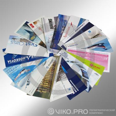 Картонные конверты для приглашений 220*110 мм