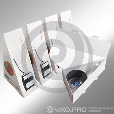 Картонная упаковка для ковша 200х120х100 мм