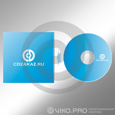 """Упаковка для дисков """"CDZakaz"""" 130х130 мм"""