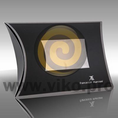 "Подарочная упаковка для галстука ""Francesco Marconi"" 195х55х290(235)мм"