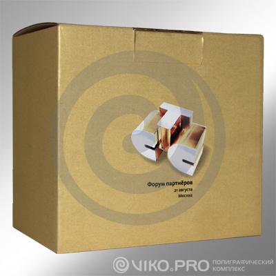 "Прочее / Корпоративные подарки / Корпоративный подарок ""СТС"" 150х140х100 мм"