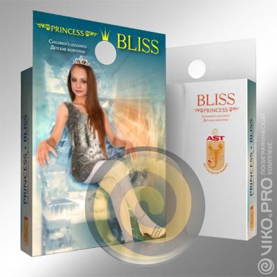 Упаковка для детских колгот Princess Bliss