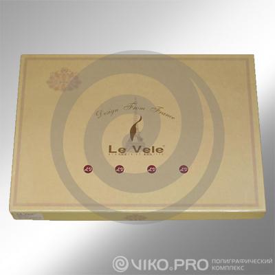 """Упаковка для постельного белья """"Le Vele"""" 550х320х80мм"""