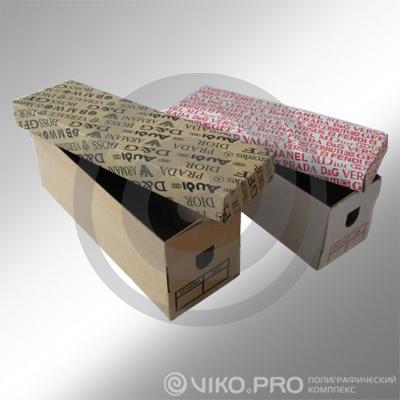 Упаковка для мужской обуви 277х127х95