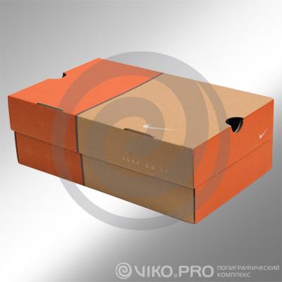 Упаковка для спортивной обуви 340х235х120мм