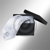 Картонная упаковка для галстуков
