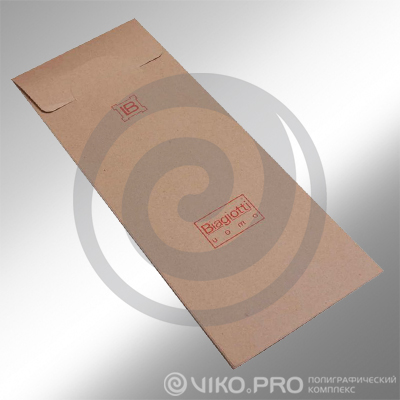 Текстиль / Для галстуков / Конверт для галстука, 110х270мм