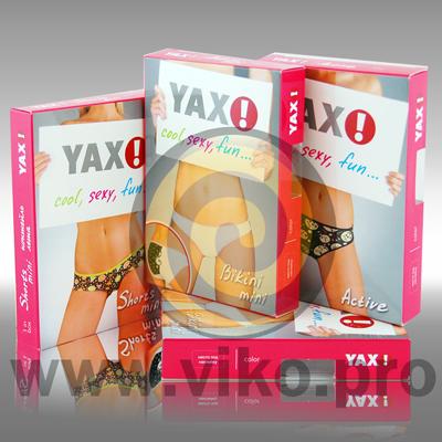 Упаковка для женских трусов YAX 2