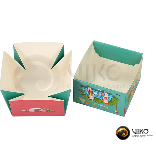 """Картонная упаковка для конфет / Для конфет / Картонная упаковка для конфет """"Удобные кусочки"""" 115*115*70 мм"""