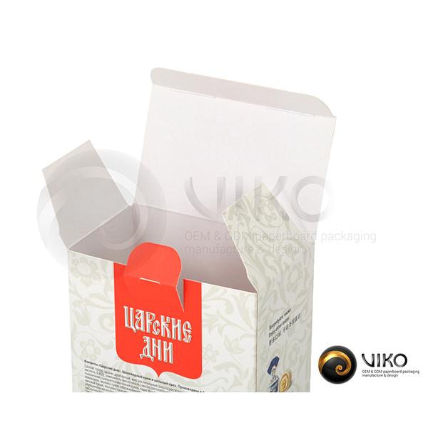 """Картонная упаковка для конфет / Для конфет / Картонная упаковка для конфет """"Царские дни"""" 150*90*55 мм"""